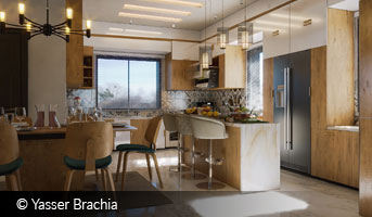 Yasser Brachia small apartment 3D contest